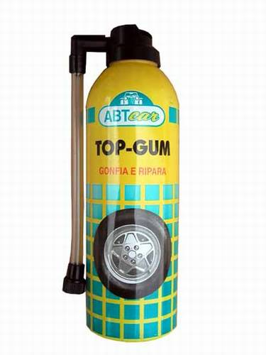 Defekt spray  - TOP GUM 400ml - spray na opravu pneu 300ml