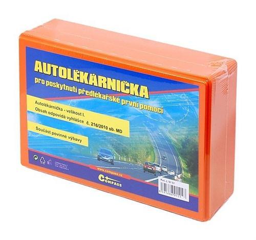 Autolékárnička NOVÁ VYHLÁŠKA novelizace č. 182/2011