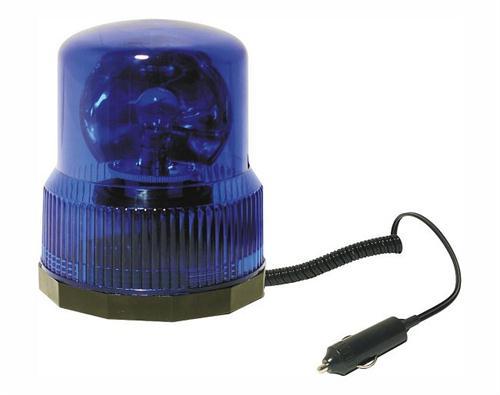 Maják modrý 12V