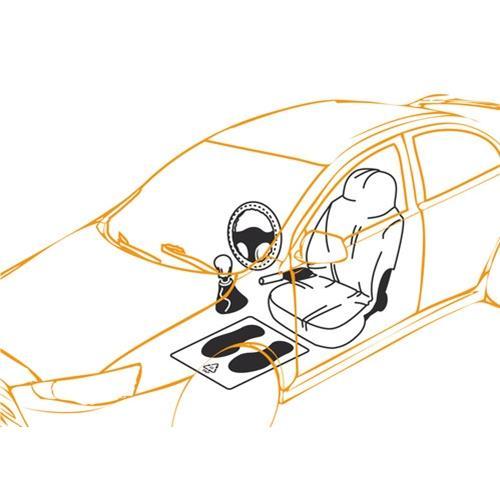 Ochranný potah do auta 5 v 1