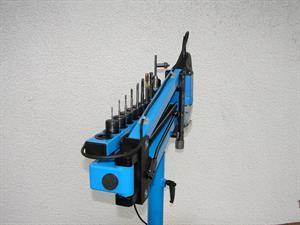 Pohled na zásobník nástrojů