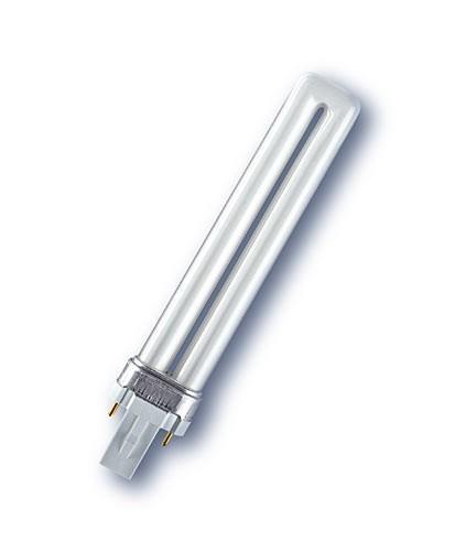 RADIUM Ralutec DZ 9W/78 UVA,G23, zářivka s UV zářením