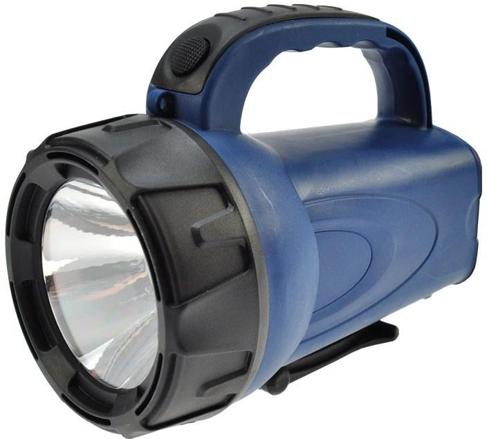 Nabíjecí LED svítilna, 3W LED, Li-Ion, černomodrá,Solight