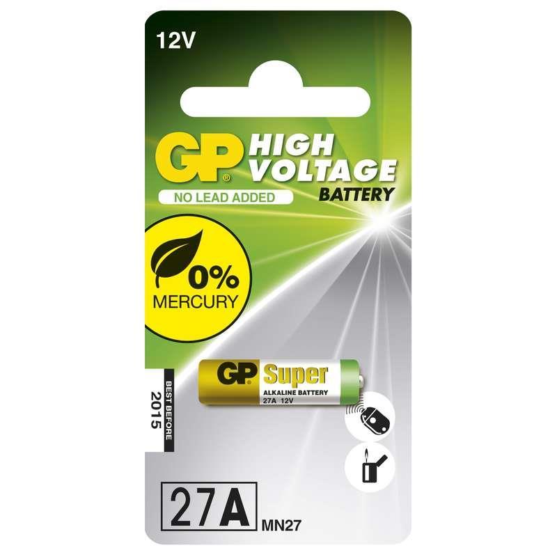Baterie GP 27A 12V
