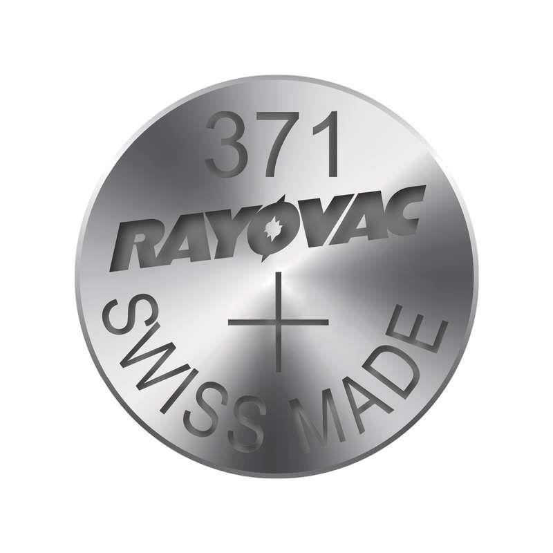 Knoflíková baterie do hodinek RAYOVAC 371 1ks