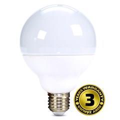 Solight LED žárovka, globe, 15W, E27, 3000K, 270°, 1250lm