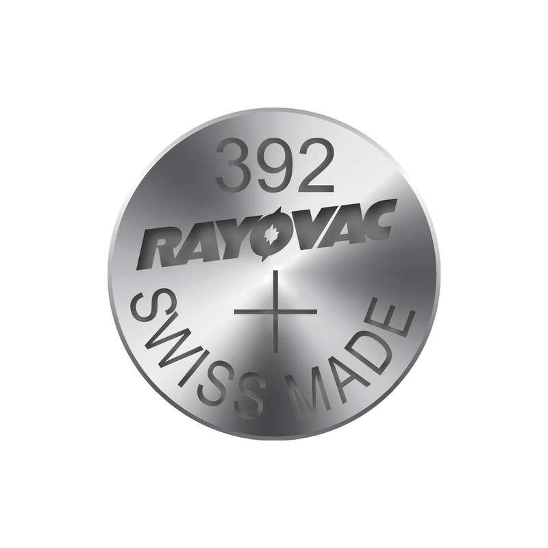 Knoflíková baterie do hodinek RAYOVAC 392, 1ks v blistru