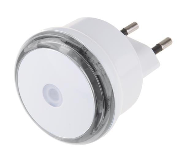 Noční světlo s fotosenzorem do zásuvky 230V, 3x LED