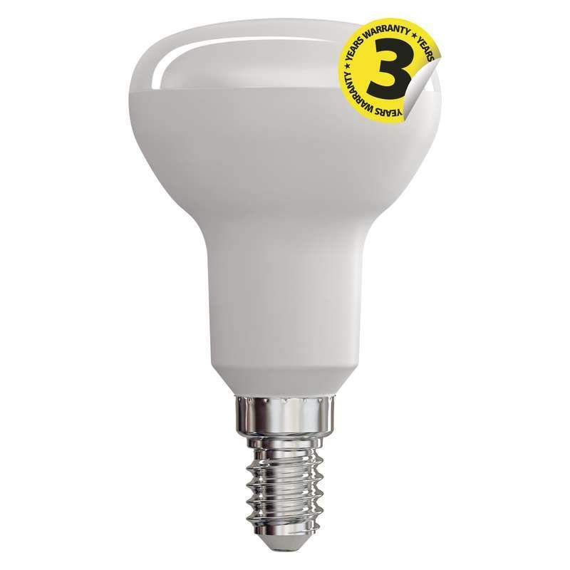 LED žárovka R50 6W E14 teplá bílá