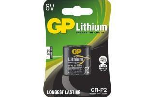 Foto lithiová baterie GP CR-P2, 1 ks v blistru