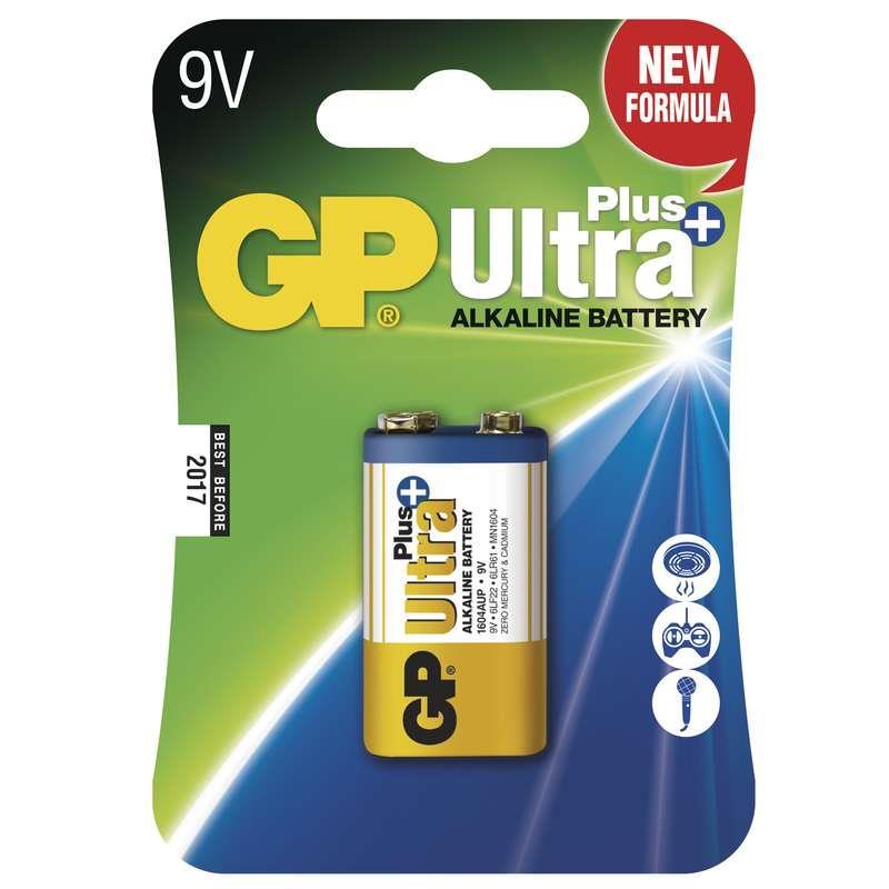 Baterie GP 6LF22 ULTRA PLUS ALKALINE (1604) 9V 1ks blistr