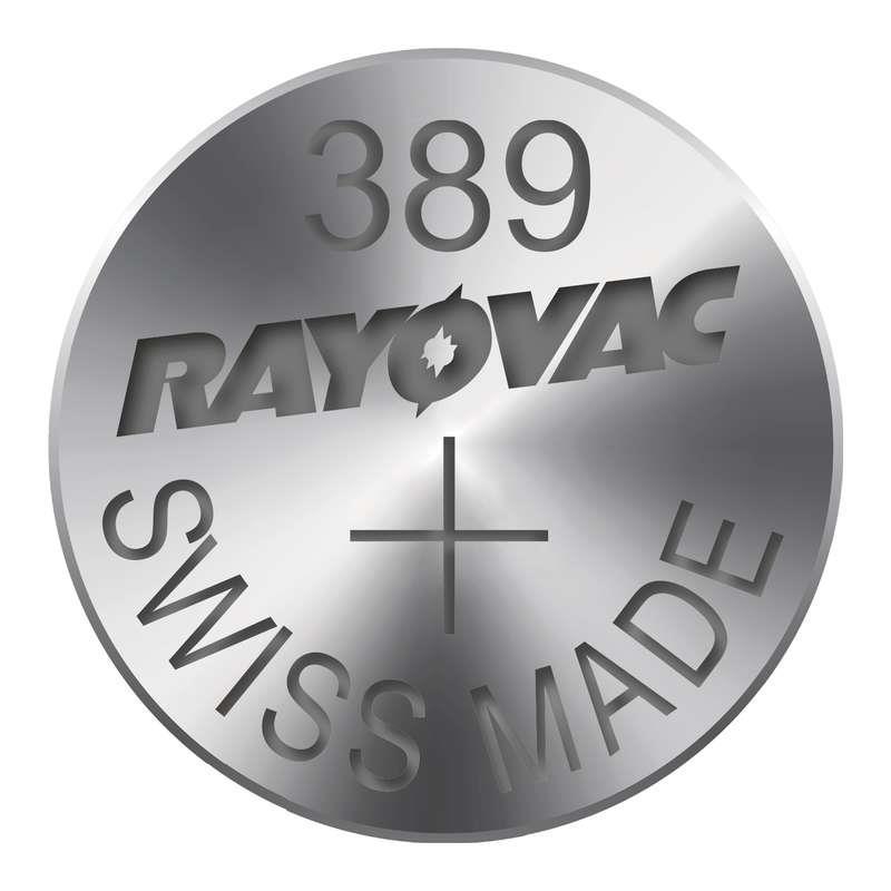 Knoflíková baterie do hodinek RAYOVAC 389 1ks