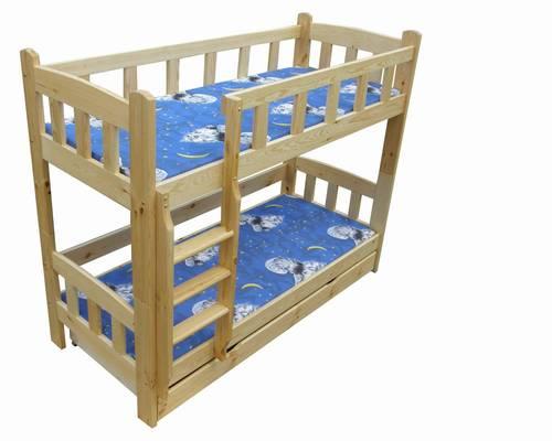 dřevěná patrová postel masivní Idylia chalup