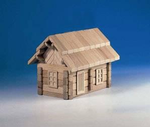 dětská dřevěná stavebnice Koliba