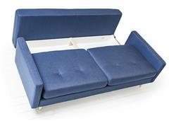 moderní rozkládací pohovka trojí sedák Pure 3DL optisof