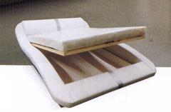 dvojlůžková čalouněná postel Madera 200 chojm