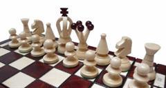 dřevěné šachy turistické Královské malé 113 mad