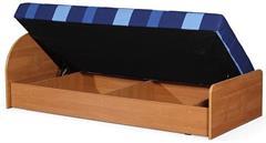 čalouněná jednolůžková postel, s úložným prostorem Loze D chojm