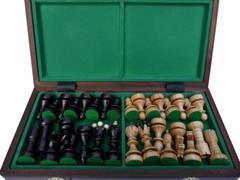 dřevěné šachy tradiční Slovanské 133 mad