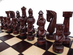 šachy dřevěné Cezar malý 103 mad