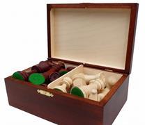 dřevěné turnajové šachové figurky TOURNAMENT 6 168 mad