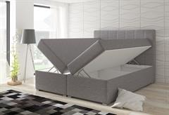 čalouněná dvojí lůžková postel Alicie eltapmeb