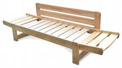 dřevěná moderní pohovka rozkládací, včetně matrace Summer chalup