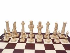dřevěné šachy vyřezávané ROYAL LUX 104 mad