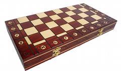 dřevěné šachy tradiční Senator 125 mad