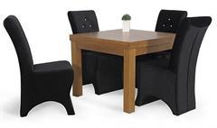 moderní jídelní dřevěný rozkládací stůl S23 chojm