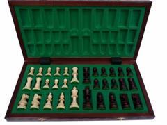 dřevěné šachy tradiční  CONSUL 135 mad