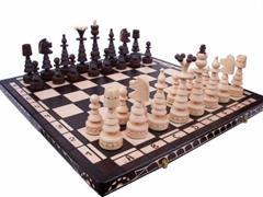 dřevěné šachy umělecké Stromečkové velké 114A mad