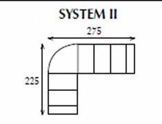 systemová variabilní moderní rohová sedací souprava Apollo 2 jarex