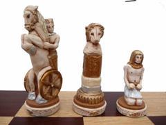 luxusní šachy EGIPT 157 mad
