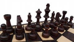dřevěné šachy trojka malé 164 mad