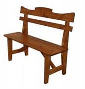 dřevěný zahradní nábytek 2+2+1 Mieszko 01 trim