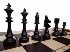 dřevěné šachy tradiční KLUBOWE 150 mad