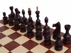 dřevěné šachy umělecké DEBIUT 145 mad