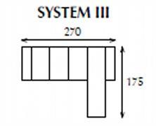 systemová variabilní moderní rohová sedací souprava Apollo 3 jarex