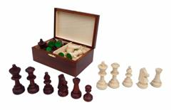 dřevěné turnajové šachové figurky TOURNAMENT 5  167mad