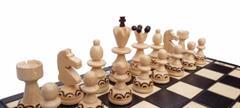 dřevěné šachy turistické PEREŁKA MAŁA se vložkou 134A mad