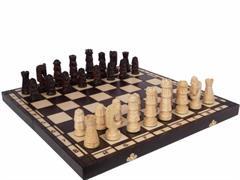dřevěné šachy vyřezávané GIEWONT 110 mad