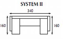 systemová variabilní moderní rohová sedací souprava Tom 2 jarex