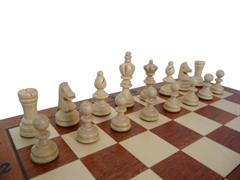 dřevěné šachy turnajové OLIMPIJSKIE malé 122AF mad