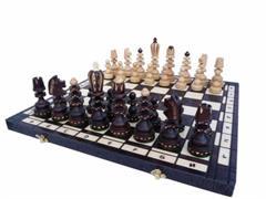 dřevěné šachy umělecké ROMAN 131 mad