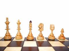 dřevěné šachy tradiční  INDICKIE 123 mad