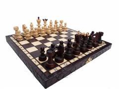 dřevěné šachy turistické PEREŁKA MAŁA 134 mad