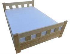 dřevěná postel s úložným prostorem Wenecja chalup