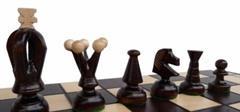 dřevěné šachy turistické Královské střední 112 mad
