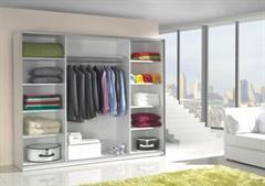 moderní šatní skříň s posuvnými dvířky Lux5 maride